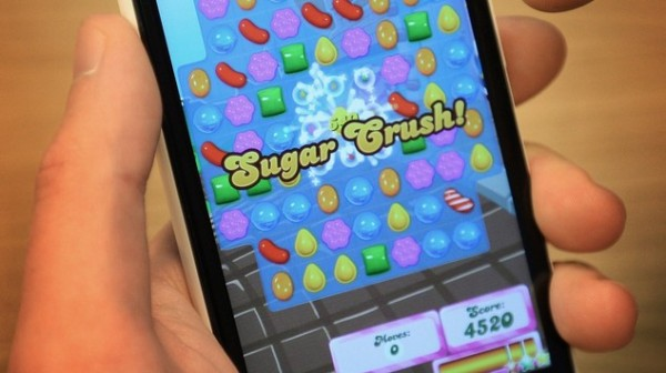 Probe over MP Candy Crush photo