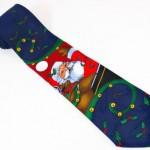Moș Crăciun cravată