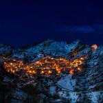 Seară la Castelmezzano
